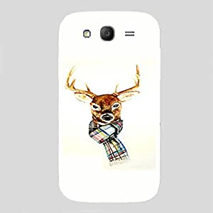 Back cover for Samsung Galaxy Grand Neo Winter Deer 2