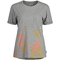Maloja Bedolem. Camiseta, Mujer, Grey Melange Poppy, M