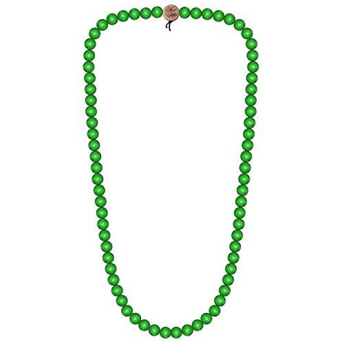 Wood-Fellas-Halskette-in-neongrn-von-Gre-6-12mm
