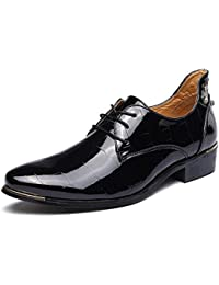 CAI Zapatos de Vestir de Cuero Charol para Hombre Zapatos 2018 Zapatos de  Vestir de 6f4a499fa438