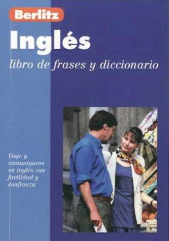 Berlitz English Phrase Book for Spanish Speakers (Berlitz Phrase Books)