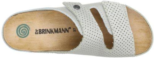 Dr. Brinkmann 700568 Damen Clogs & Pantoletten Weiß (stein 81)