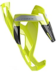 Elite 251284 Bottle Cage, Yellow and Black