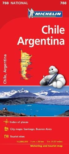 Chile Argentina - Michelin National Map 788 (Michelin National Maps) por Michelin