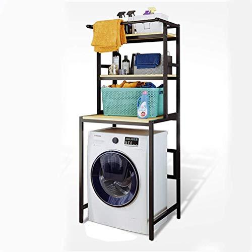 1949shop Waschmaschinenregal Balkon-Trommelwaschmaschinenregal, quadratischer Wäschestän
