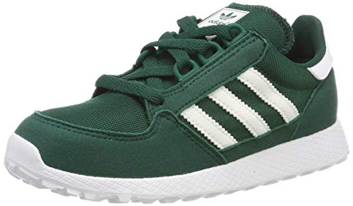 sports shoes bf882 69047 adidas Forest Grove C, Scarpe da Fitness Unisex-Bambini, (Verde 000)