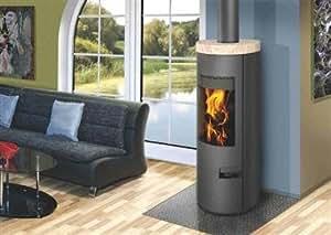 kaminofen luanco 04 mit ap sandstein drehbar baumarkt. Black Bedroom Furniture Sets. Home Design Ideas
