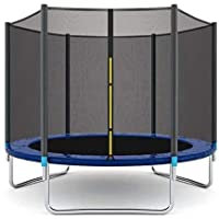 XIANGYU Trampoline, High Quality Kids Outdoor Trampolines Jump Bed With Safety Enclosure Exercise Fitness Equipment - Genuine Guarantee Purchase from Seller XIANGYU (8FT)