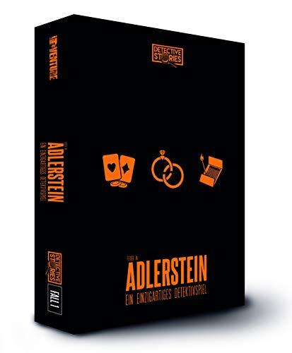 iDventure Detective Stories. Fall 1: Das Feuer in Adlerstein. Detektivspiel, Krimispiel, Escape Room Spiel für zu Hause