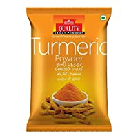 Quality Spices Turmeric Powder Masala 500 Grams (Pack of 1)