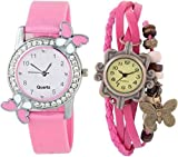 paper cut Combo Watch New Beautiful Collection Kids and Girls Watch - for Girls