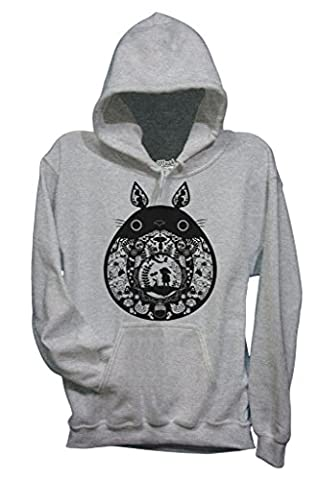 Sweat Totoro - Sweatshirt TOTORO BLACK & WHITE - DESSIN