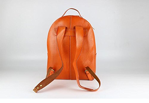 DJB/Leder Umhängetaschen Man Tasche Herren-style-korean Edition backpack-tanned Leder Tide Paket Orange