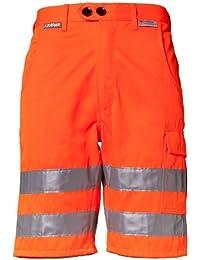 Planam Shorts Warnschutz, Größe L, 1 Stück, orange, 2015052