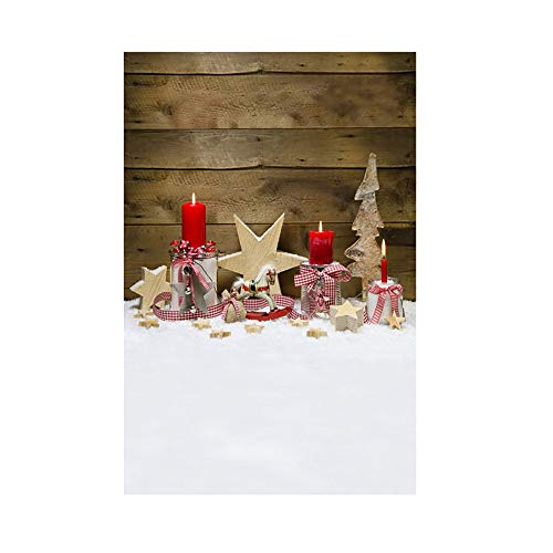 MAYOGO Studio 3D Hintergrund Stoff des Weihnachtsfoto-Studio-3D Elegant -