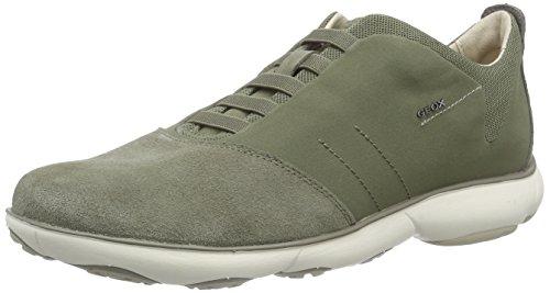 Geox u nebula b scarpe low-top, uomo, marrone (sage), 39