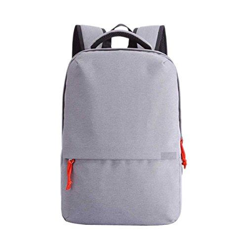 Männer Umhängetasche Mode Schultasche Computertasche Wiederaufladbarer Rucksack Darkgray