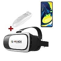 Samsung Galaxy A80 VR BOX Sanal Gerçeklik Gözlüğü Kumandalı 3D