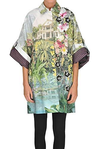 Antonio Marras EZGL148008 Damen Multicolour Baumwolle Mantel