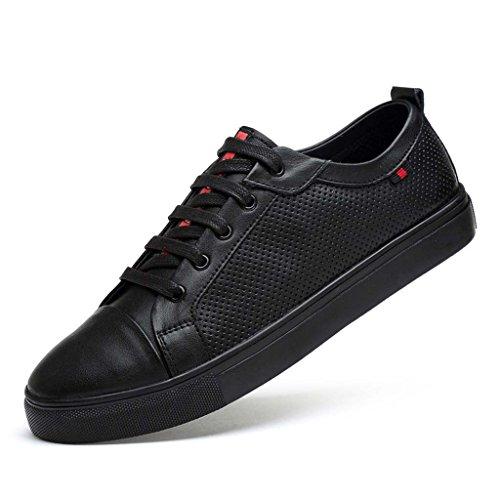 new product bba8a 65030 ZXCV Scarpe allaperto Scarpe da tavolo Uomo scarpe casual comfort pelle  Black A
