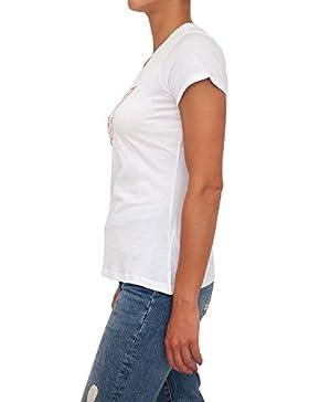 GUESS Camiseta W82I11-K51R0-A996 SS RN Eyelets