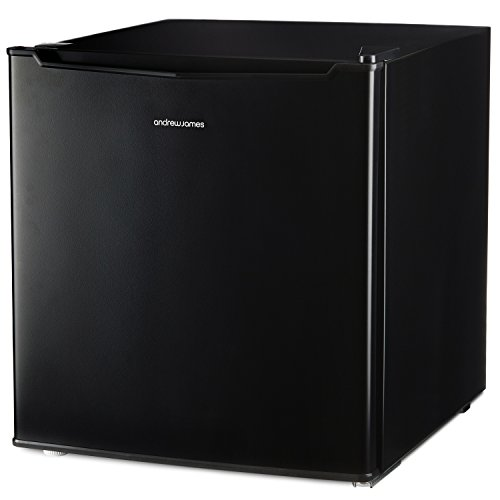 Andrew James Mini Fridge with Freezer Compartment | Compact Refrigerator for Home Bedrooms Offices Parties or Camping | Mini Bar for Drinks Sandwiches Ice Cream Treats | 46L
