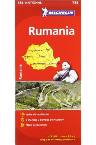 Mapa National Rumanía