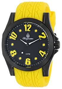 Burgmeister Herren-Armbanduhr XL Analog Quarz Silikon BM606-620A