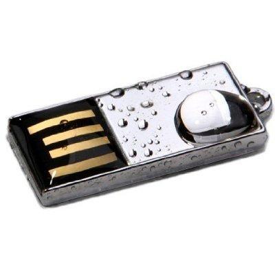 Exeze Pico Chrome 64GB Wasserdicht und Stossfest USB Speicherstick Verchromt - Sicher, Winzig und Stilvoll (Pen-treiber 32 Gb)
