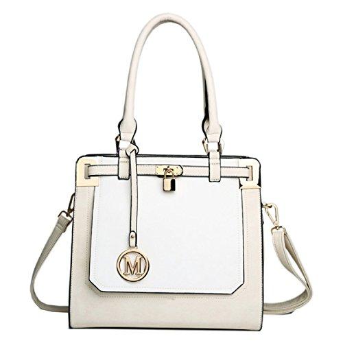 Yy.f Neue Lässige Handtaschen Einfaches Abendessen PU matte Leder Schulter Diagonal Handtaschen Multicolor A