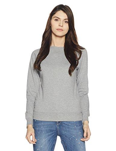Symbol Women's Sweatshirt (AW17WMRN101_Light Grey Melange_XS)