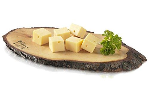 Rinde: la collezione di taglieri per formaggio di legno di frassino per un'atmosfera naturale a casa vostra! , Materiale: 100% legno di frassino Dimensioni: Lunghezza: 285 mm Larghezza: 160 mm Altezza: 20 mm Numero articolo Boska: 362370 , Volume di ...