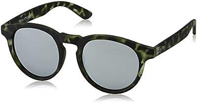 Wolfnoir Hathi, Gafas de Sol Unisex, Silver Green, 45