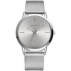 Coconano Relojes Mujer, Reloj de Malla de Malla de Alta Dureza de Vidrio Para Hombres y Mujeres En General
