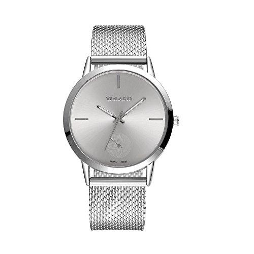 Womens Rhinestone Quartz Watches,Ladies Watches Sale Clearance Waterproof Fashionable High Hardness Glass Mirror Men And Women General Mesh Belt Watch