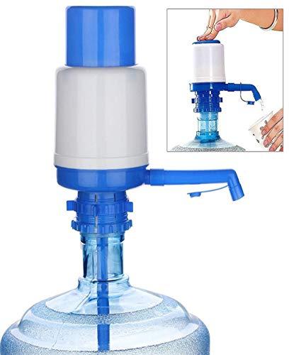 Barlingrock 1 Stück Trinkwasserpumpe Hand Wasserflasche Krug Hand Pumpspender Camping Trinken Zapfen 5 und 6 Gallone