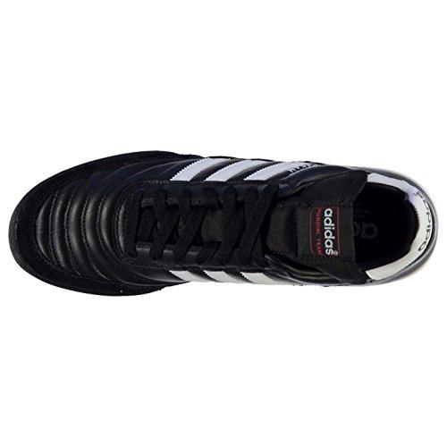 Adidas Mundial Team, Chaussures de Football Adulte Mixte schwarz/weiß