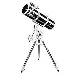 SKYWATCHER 200MM REFLECTOR ON EQ5 MOUNT STEEL TRIPOD GREAT FOR ASTROPHOTOGRAPHY