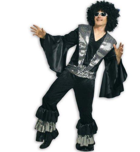 Rock Star Jahre Kostüm 80er (Gurimotex 27833 - Bernie / 2-teilig / Grösse XL /)