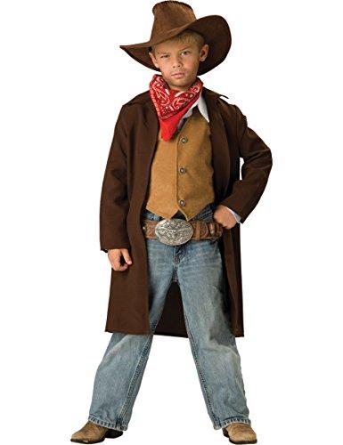 Imagen de disfraz vaquero para niño premium  6  7 años m