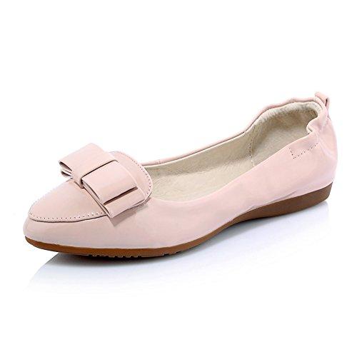 Superficiale moda pattini della signora dolce egg roll/fondo piatto scarpe con suola morbida/scarpe a punta in primavera B