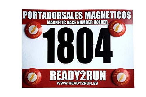 READY2RUN Portadorsales magnéticos Flash Runner