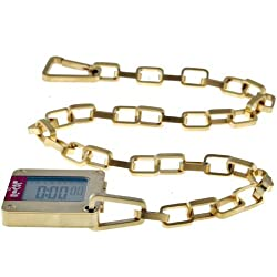 Levi's Gents Gold Plated Steel with Digital Display Watch