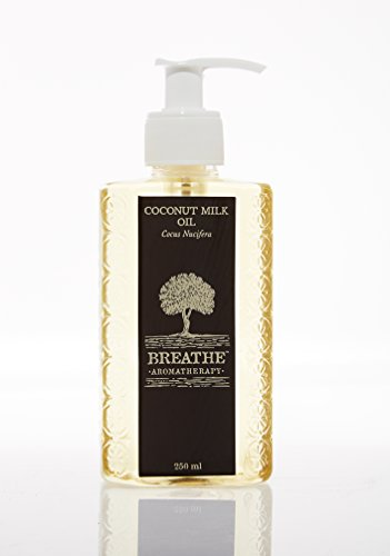 Breathe Aromatherapy Pure Coconut Milk Oil 250 Ml