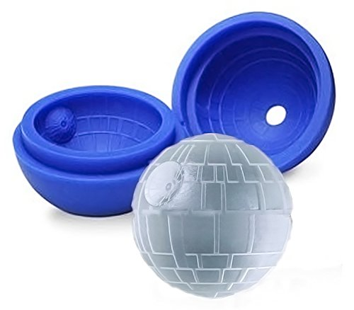 psfy Silikon Star Wars Todesstern rund Ball Ice Cube Form Tablett Desert Kugel Form DIY