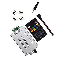 RF 18 Key Music-Controller (12A) für 5050 3528 LED-Streifen-Module RF-Fern 12 ~ 24V
