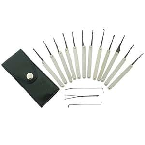 Picklock Set Pickset 15-Teile mit Tasche