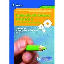 Individuell fördern 5 Lesen: Sachtexte: Sach und Gebrauchstexte (5. Klasse) (Individuell fördern Deutsch)
