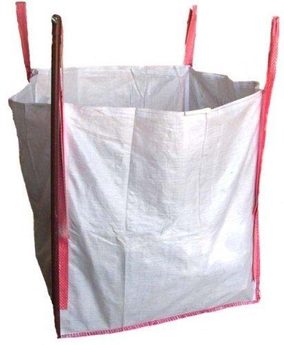 10 Big Bag, fibc Pierre, Sac, Sac de ramassage, 90 x 90 x 90 cm SWL 1500 kg (6,50 €/pièce)