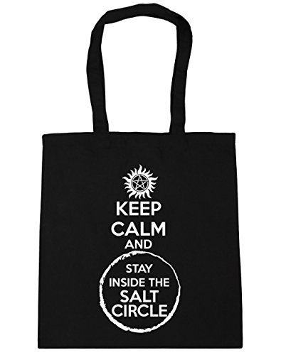 hippowarehouse-keep-calm-and-stay-inside-the-salt-circle-tote-shopping-gym-beach-bag-42cm-x38cm-10-l